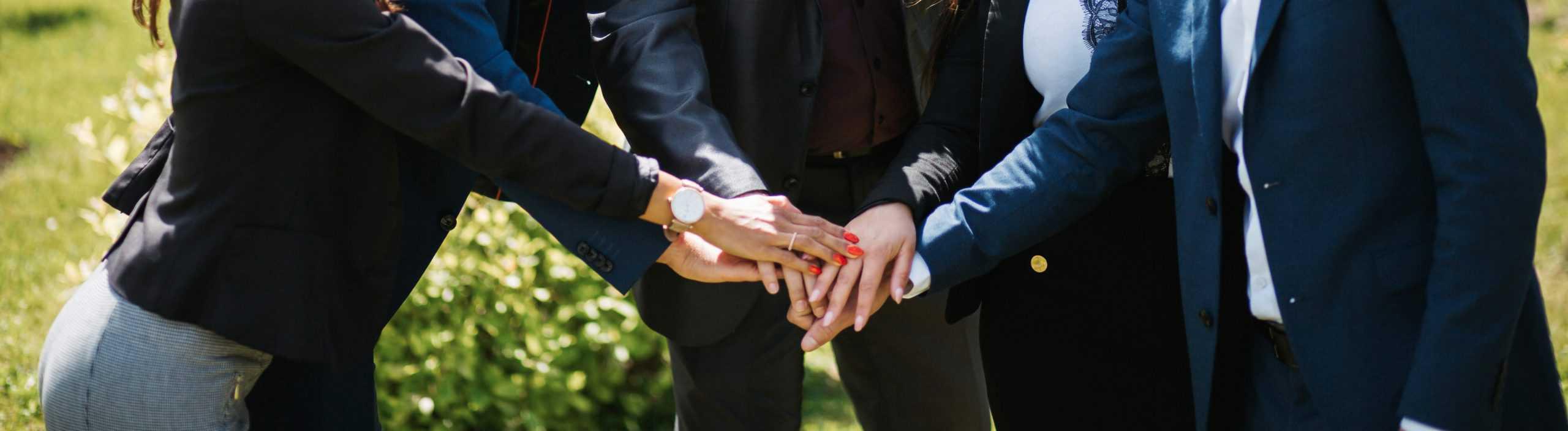 Team-alle für einen-immobilienmarkler