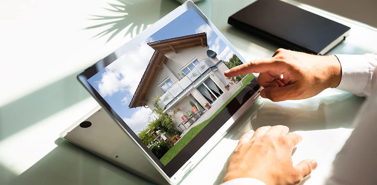 Beispiel einer Immobilien-Vermarktung