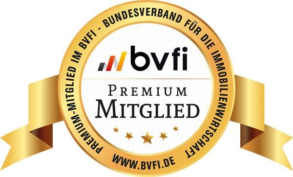 BVFI Siegel Premium Mitglied