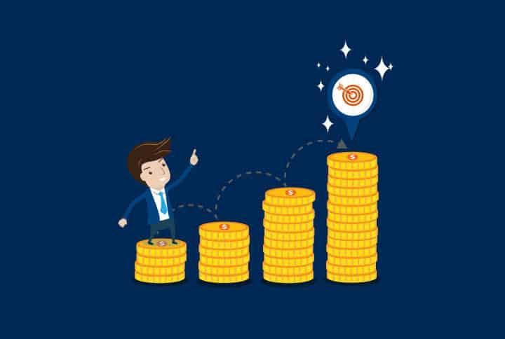 Geldanlage Illustration