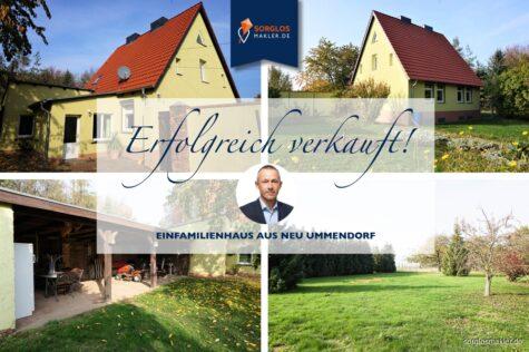 Schickes Einfamilienhaus mit großem Grundstück in der Börde, 39365 Ummendorf OT Neu Ummendorf, Einfamilienhaus