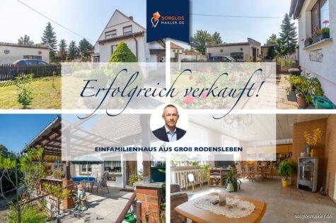Solides Einfamilienhaus in ruhiger Lage sucht handwerklich begabte., 39164 Groß Rodensleben, Einfamilienhaus