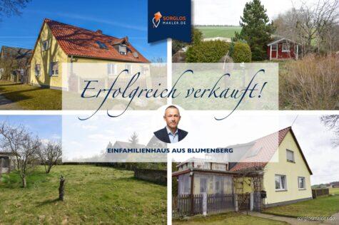 Schickes Einfamilienhaus mit großem Grundstück in der Börde, 39164 Blumenberg, Einfamilienhaus