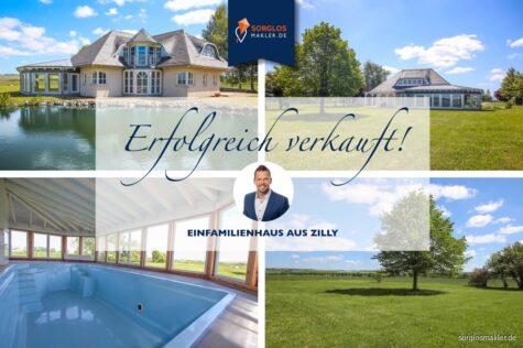 Anwesen nähe Wernigerode mit Brockenblick und exklusivem Grundriss, 38835 Zilly, Einfamilienhaus