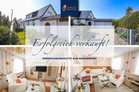 Sehr schöne Doppelhaushälfte im Hopfengarten!, 39120 Magdeburg, Doppelhaushälfte