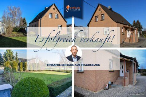 Schickes Einfamilienhaus mit weitläufigem Grundstück., 39116 Magdeburg, Einfamilienhaus