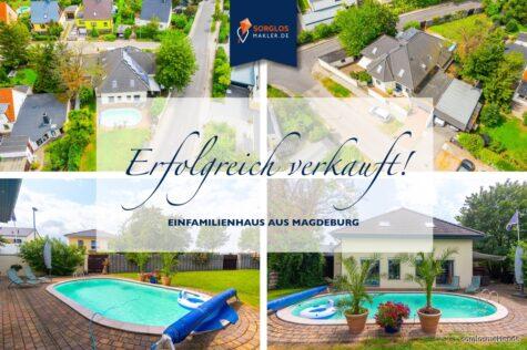 Ihr Traumhaus mit Pool in Magdeburg Ottersleben!!!,  Magdeburg, Einfamilienhaus