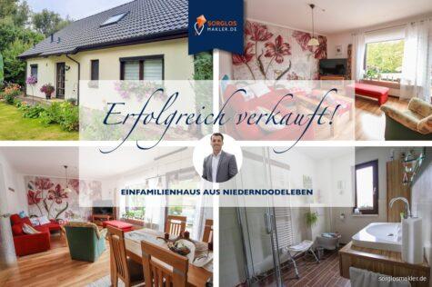 Ruhiges Leben mitten in der Börde., 39167 Niederndodeleben, Einfamilienhaus
