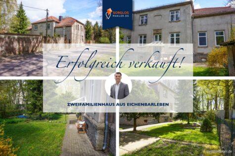 Charmantes Zwei-/Einfamilienhaus mit großem Grundstück und Platz für eigene Ideen, 39167 Eichenbarleben, Einfamilienhaus