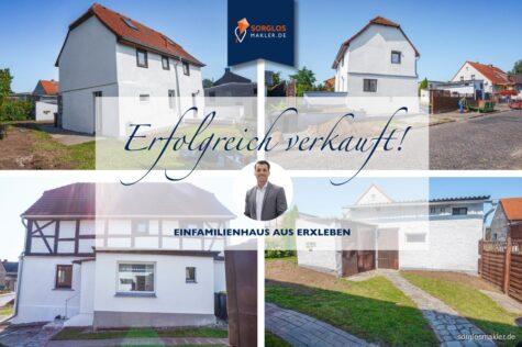 Charmantes Einfamilienhaus, grundsaniert in der Gemeinde Erxleben, 39343 Erxleben, Einfamilienhaus
