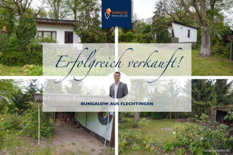 Gepflegtes Wochenend-/ Sommerhaus mit Eigentumsgrundstück, 39345 Flechtingen, Ferienhaus