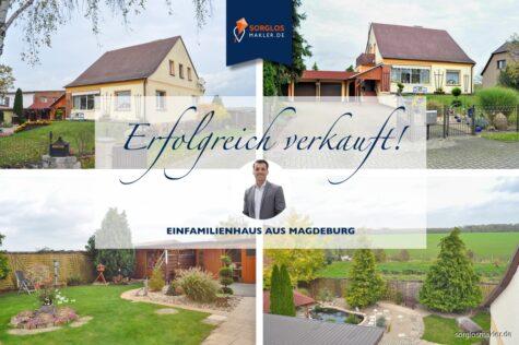 Idyllisches Wohnen – gepflegtes freistehendes Einfamilienhaus, 39114 Magdeburg, Einfamilienhaus