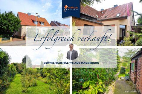 Gemütliche DHH in Magdeburg-Ottersleben!, 39116 Magdeburg, Doppelhaushälfte