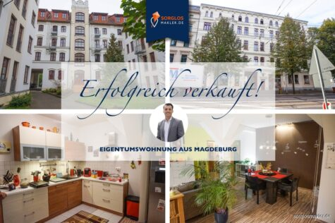**Ruhig, zentral gelegene 2-Raum-Wohnung im beliebten Stadtfeld-Ost**, 39108 Magdeburg / Stadtfeld Ost, Etagenwohnung
