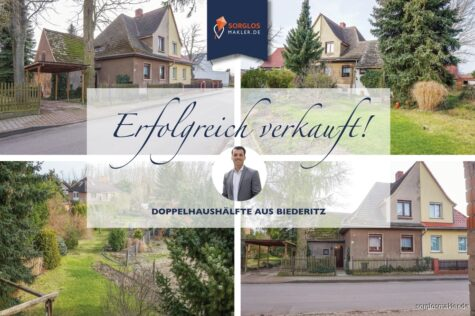 Gemütliche Doppelhaushälfte in ruhiger Lage von Biederitz, 39175 Biederitz, Doppelhaushälfte