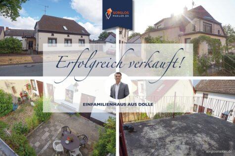 charmantes Einfamilienhaus mit viel Wohnfläche für die ganze Familie, 39517 Dolle, Einfamilienhaus