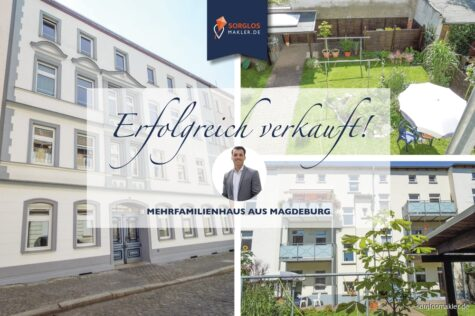 Mehrfamilienhaus mit 6 Wohneinheiten für Kapitalanleger, 39122 Magdeburg, Mehrfamilienhaus