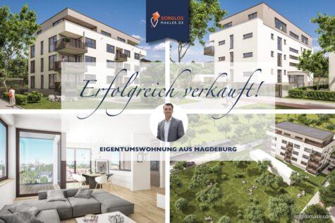 Neubau von 11 Eigentumswohnungen -zentrumsnah mit stilvoller und qualitativ hochwertiger Ausstattung, 39114 Magdeburg, Etagenwohnung
