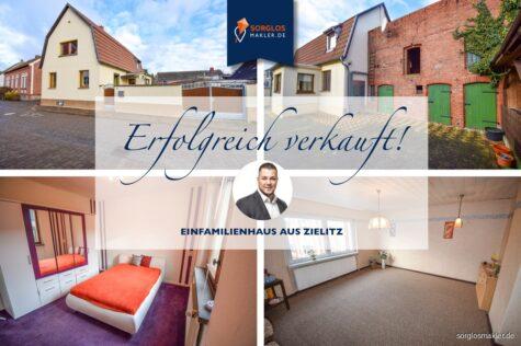 Halt! Hier ist Ihr Haus! Gemütliches Siedlungshaus sucht neue Eigentümer, 39326 Zielitz, Einfamilienhaus
