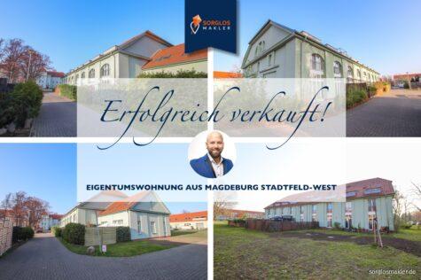 Anlageobjekt mit nennenswerter Bruttomietrendite – 2 Raumwohnung mit kleiner Grünfläche, 39110 Magdeburg, Erdgeschosswohnung