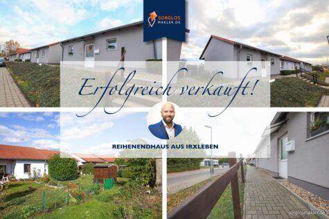 Attraktive Rentenanlage – Reihenendhaus in exzellenter Lage, 39167 Irxleben, Reihenendhaus