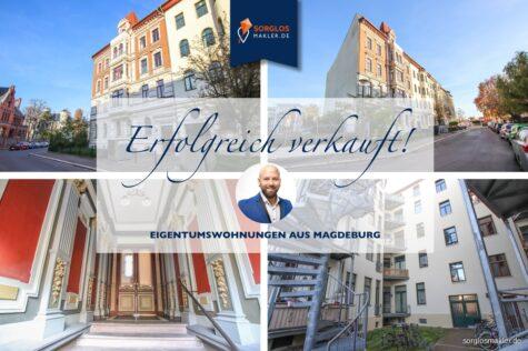 Zentrumsnahe 2-Raumwohnung wartet auf neuen Kapitalanleger, 39112 Magdeburg, Etagenwohnung