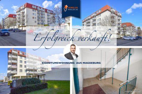 Kapitalanlage – vermietetes Appartement mit Balkon und Tiefgaragenstellplatz, 39120 Magdeburg, Etagenwohnung