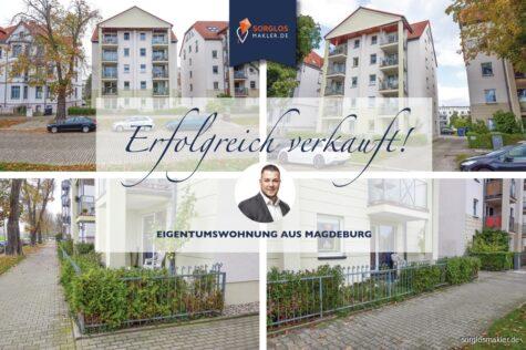 Kapitalanlage in Top Lage – vermietete Eigentumswohnung mit Stellplatz, 39114 Magdeburg, Erdgeschosswohnung