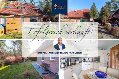 Traumhafte Doppelhaushälfte in ruhiger und idyllischer Lage, 39326 Farsleben, Doppelhaushälfte