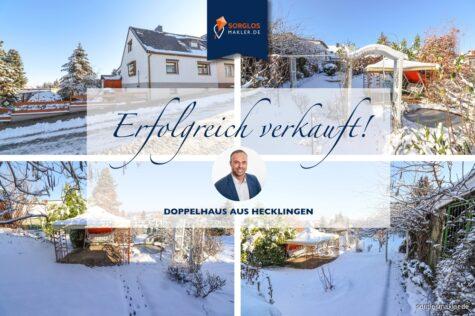 Charmante Doppelhaushälfte mit großem Grundstück, 39444 Hecklingen, Doppelhaushälfte