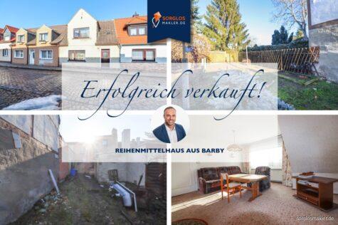 Perfekte Immobilie für Handwerker und sanierungsfreudige Interessenten, 39249 Barby, Reihenmittelhaus