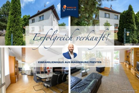 Einfamilienhaus mit großzügiger Wohnfläche im Osten Magdeburgs, 39114 Magdeburg, Einfamilienhaus