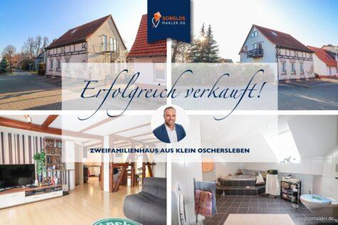 Solides Zweifamilienhaus in ruhiger Lage, 39387 Klein Oschersleben, Zweifamilienhaus