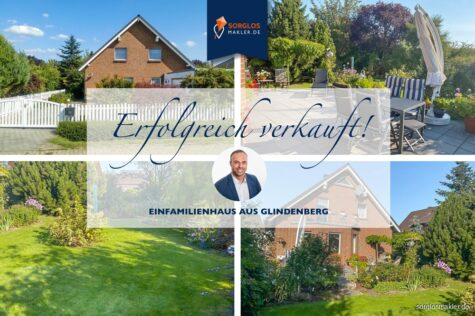 In idyllischer Lage – Familienfreundliches Einfamilienhaus, 39326 Wolmirstedt OT Glindenberg, Einfamilienhaus
