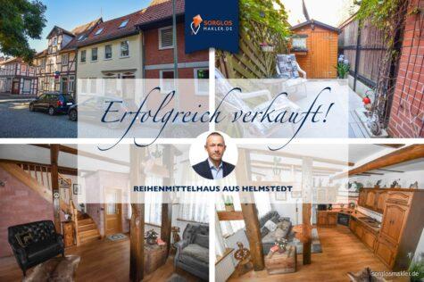 Schönes Reihenmittelhaus im Ortskern von Helmstedt, 38350 Helmstedt, Reihenmittelhaus