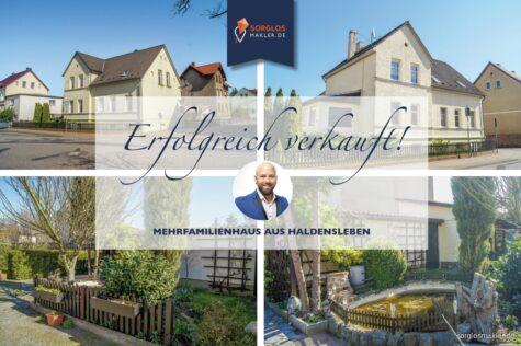 Tolles Investment – Mehrfamilienhaus mit großzügiger Wohnfläche, 39340 Haldensleben, Mehrfamilienhaus