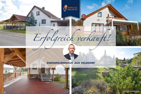 Ihr Traumhaus mitten in der Natur!!!, 39359 Velsdorf, Einfamilienhaus
