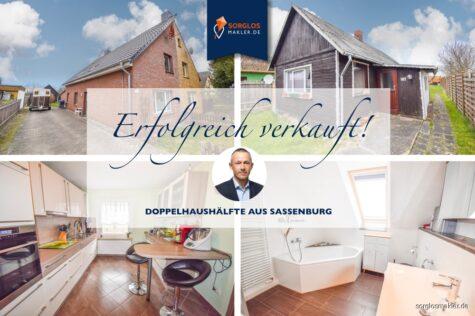 Gemütliche Doppelhaushälfte in Sassenburg!!!, 38524 Sassenburg, Doppelhaushälfte
