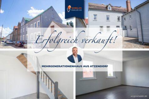 Mehrgenerationenhaus zum Ausbau in ruhiger Lage!, 39443 Atzendorf, Mehrfamilienhaus