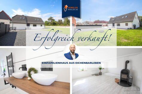 Frisch modernisiertes Einfamilienhaus wartet auf neue Eigentümer, 39167 Eichenbarleben, Einfamilienhaus