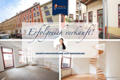 Kapitalanlage – Eigentumswohnung mit Terrasse und Balkon, 39104 Magdeburg, Maisonettewohnung