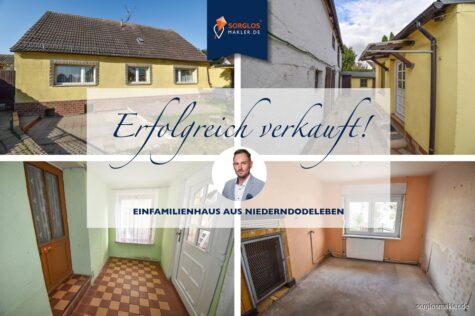 Perfekte Immobilie für Handwerker und sanierungsfreudige Interessenten., 39167 Niederndodeleben, Einfamilienhaus
