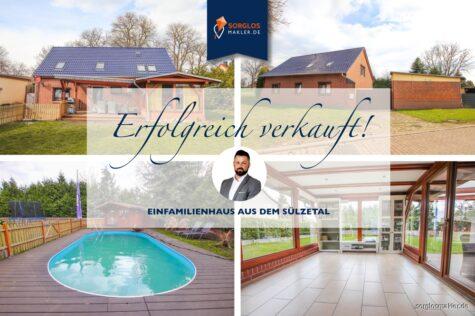 Ihre Suche hat ein Ende! Moderner Familientraum mit Pool, Sauna und XXL-Grundstück!, 39171 Sülzetal, Einfamilienhaus