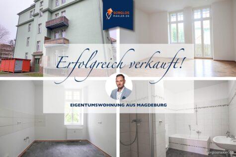 4-Raumwohnung in ruhiger grüner Lage sucht neuen Eigentümer!, 39110 Magdeburg, Etagenwohnung