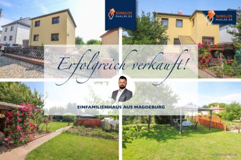 Bezauberndes Einfamilienhaus in einer ruhigen Wohngegend – Perfekt für Ihre Familie!, 39118 Magdeburg, Einfamilienhaus