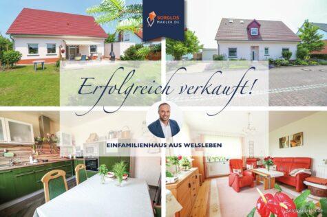 Traumhaftes Einfamilienhaus mit viel Platz in bester Lage von Welsleben, 39221 Welsleben, Einfamilienhaus